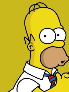 Картинка для поклонников мультсериала Симпсоны